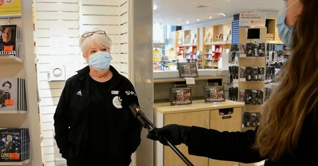 Så ser det ut med användningen av munskydd i Södertäljebutikerna