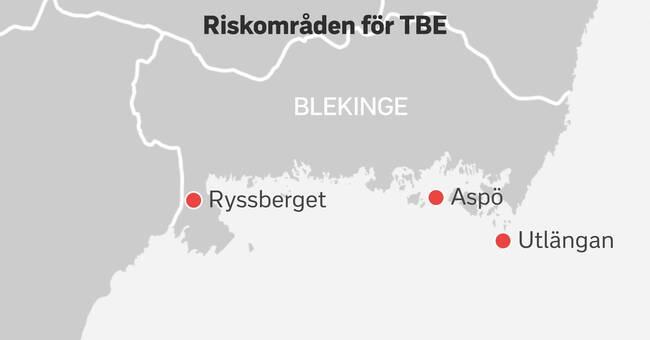 Utbrott av TBE kan slå till i Blekinge – mitt under pandemin