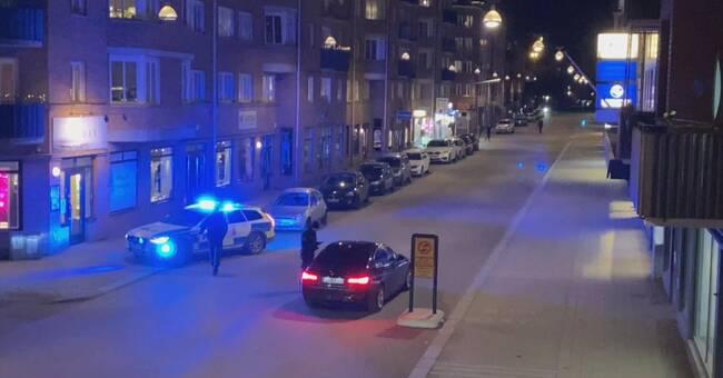 Efter trafikstoppet i centrala Halmstad – 13 böter på 45 minuter