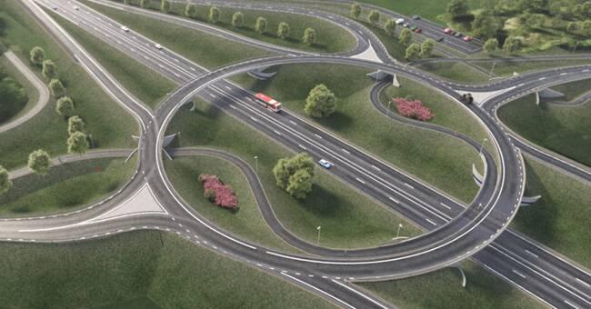Regeringen ger grönt ljus för bygget av nya E22