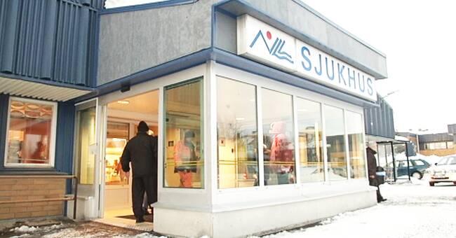 Region Norrbotten backar om ändringsförslagen för Kiruna sjukhus