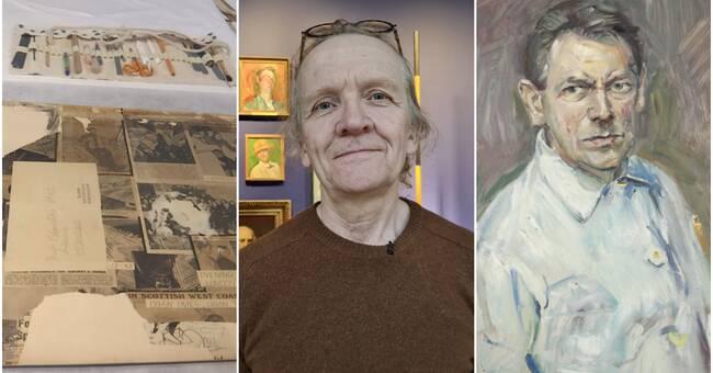 Oväntat fynd på Göteborgs konstmuseum – nytt verk på baksidan av Kurt Schwitters självporträtt