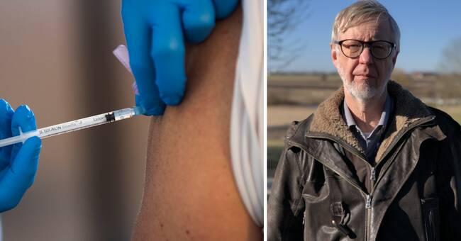 """Huvudskyddsombud slår larm: """"Vårdpersonal blir sjuka av vaccinet"""""""