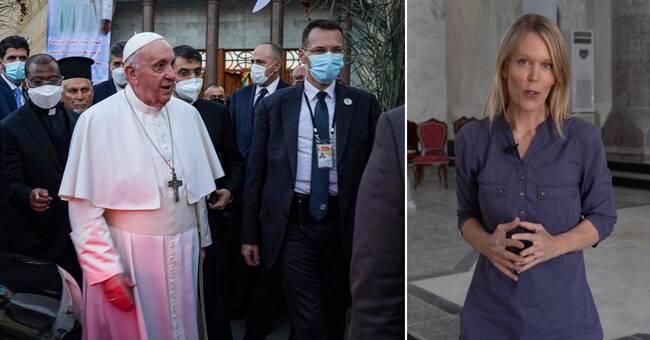 Påvens besök väcker hopp för landets kristna