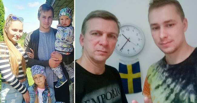"""Vill söka politisk asyl: """"Svenska regeringen gör ingenting"""""""