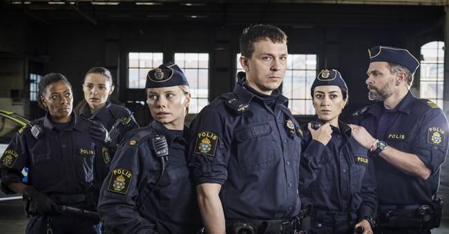 Polisserien Tunna blå linjen stöttas av Malmö stad