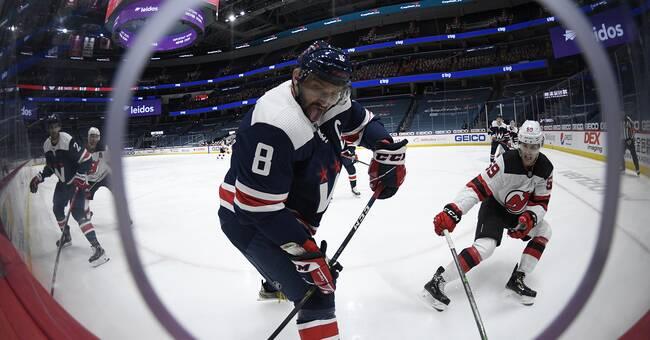 Alexander Ovetjkin sköt segern till Washington Capitals