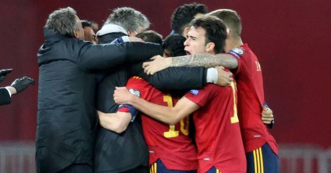 Dani Olmo frälste Spanien i elfte timmen