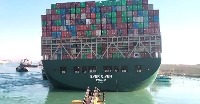 Egypten vägrar släppa fartyget efter stoppet
