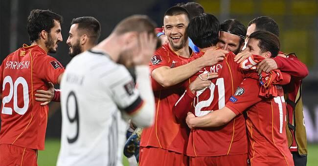 Skrällen: Germany falls – vs North Macedonia