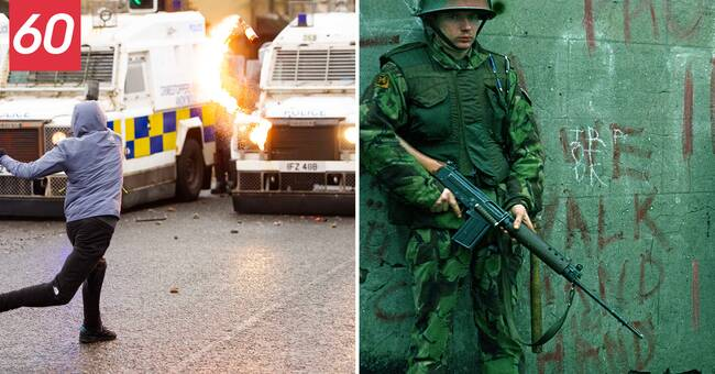 Konflikten på Nordirland på 60 sekunder