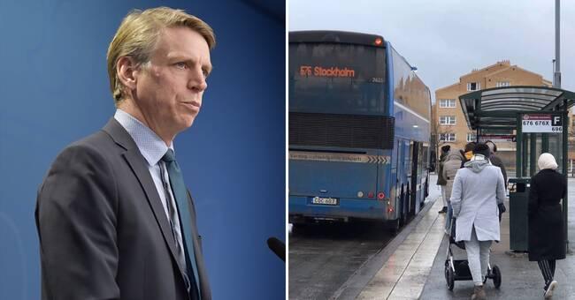 """Extra miljard till kollektivtrafiken: """"Får inte dras ner"""""""