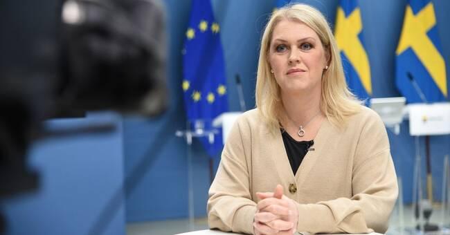 Socialminister Lena Hallengren drabbad av bröstcancer