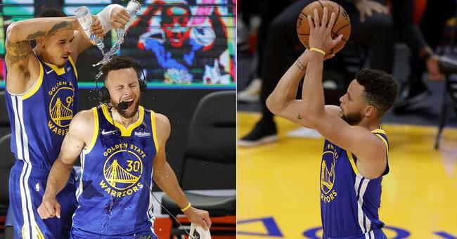 Curry gjorde 53 poäng – nytt klubbrekord för Golden State
