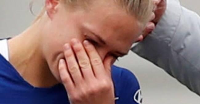 Magdalena Eriksson utbytt skadad