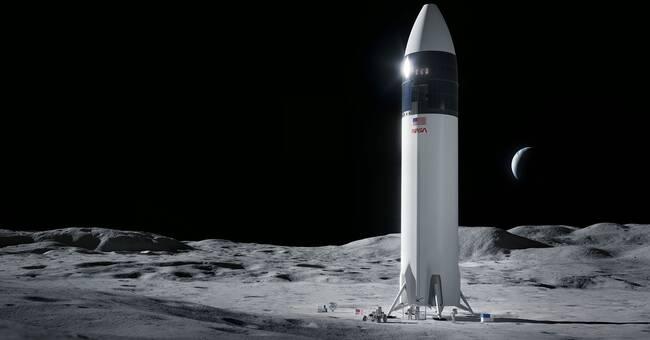 SpaceX vinner miljardkontrakt – ska ta människor till månen