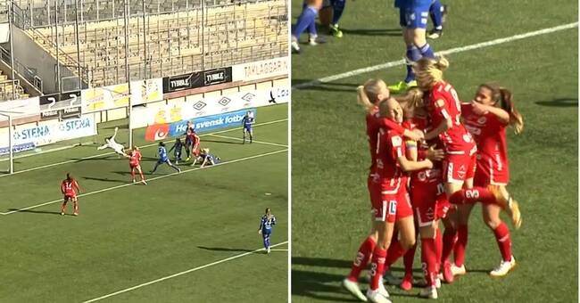 Lundin enda målskytt – när Kif Örebro vann