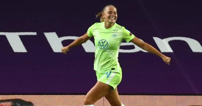 Båda svenskorna gjorde mål i Wolfsburgs seger