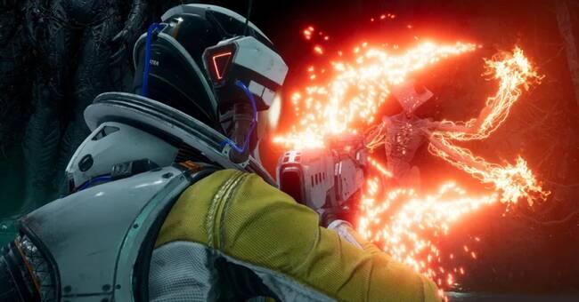 Död och återfödelse i rymden i nya tv-spelet Returnal
