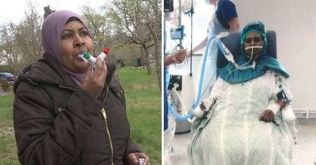 Covid-sjuka Saosan fick nya lungor efter 116 dagar på iva
