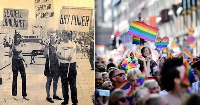 50 år sedan första hbtq-demonstrationen i Sverige