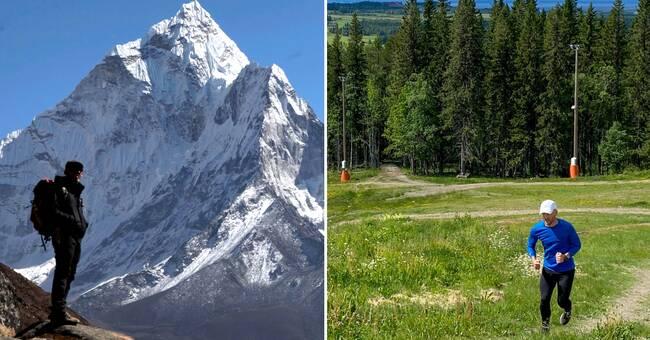 Här kan länsborna bestiga Mount Everest på Frösön