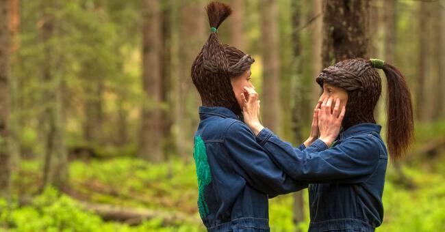 Premiär för dans till naturens ljud i skogen i Eskilstuna
