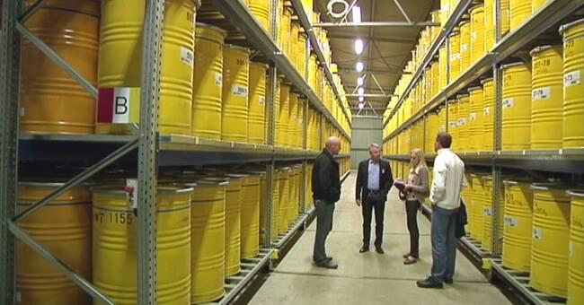 Radioaktivt avfall misstänks vara felplacerat i Forsmark