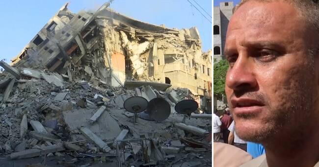 Mohammed förlorade tre barn i israeliskt luftangrepp