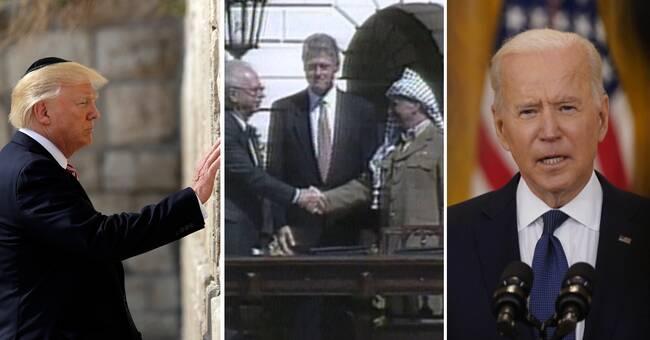 Tidslinje: USA:s roll i Israel-Palestina-konflikten