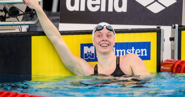 Michelle Coleman enkelt vidare till semifinal i sim-EM