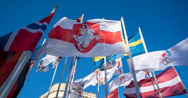 Konflikt under VM – vägrar använda Belarus flagga