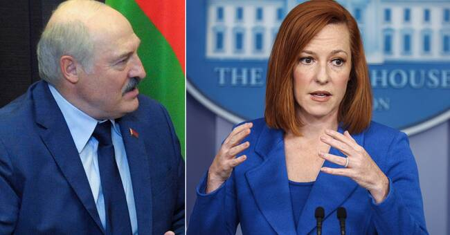 """USA inför sanktioner mot Belarus efter """"kränkningen av internationella normer"""""""