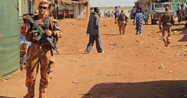 Försvarsmakten öppnar blodbank för styrkorna i Mali