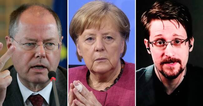 """Avlyssnade tyska politikern: """"Absurt och groteskt"""""""