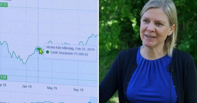 Magdalena Andersson bekräftar: Vill göra förändringar i ISK-konton
