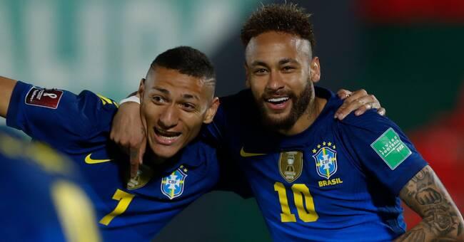 Brasilien kopplar greppet om VM-biljetten
