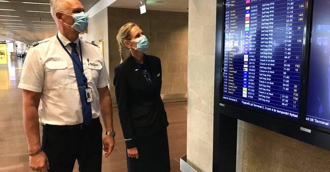 """Flygresorna ökar kraftigt på Arlanda: """"Högsäsong"""""""