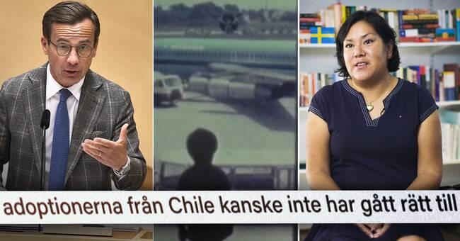 Ulf Kristersson vägrar svara på frågor – var ansvarig när larm om stulna barn avfärdades