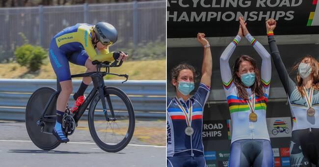 VM-guld till svensk paracyklist