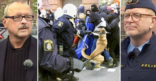 Här möts polischefen och protestledaren – 20 år efter Göteborgskravallerna