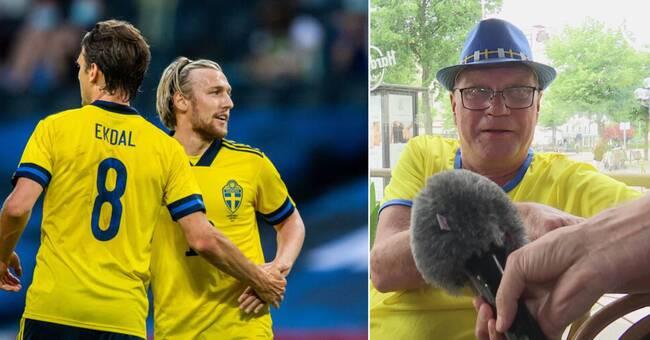 "Ikväll går Sverige in i EM: ""Det blir guld givetvis!"""