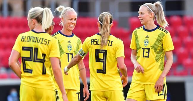 Sverige mållöst i OS-genrepet