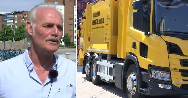 Möt Göteborgs första vätgasdrivna sopbil