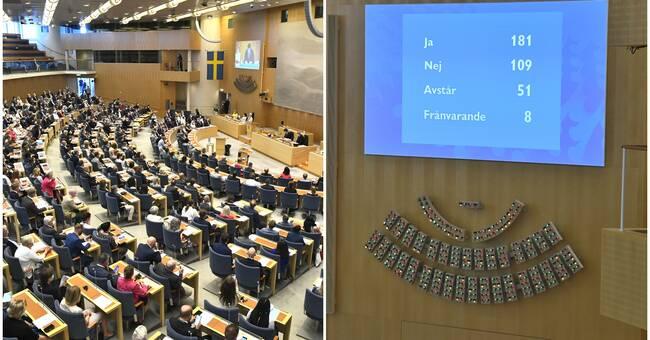 Så röstade Sörmlands riksdagsledamöter i misstroendeförklaringen