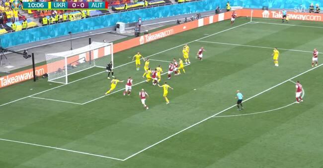 Ukraina och Österrike gör upp om andraplatsen