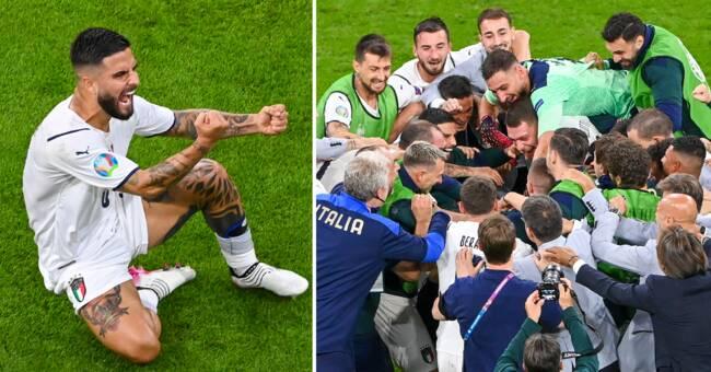 Insignes drömträff tog Italien till semifinal