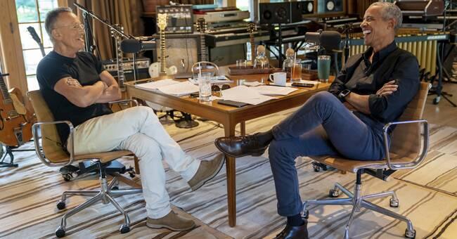 """Obama och Springsteen skriver bok ihop: """"Vi delar en medvetenhet"""""""