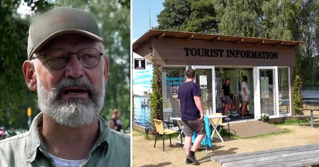 Falkenberg storsatsar på fysiska turistbyråer