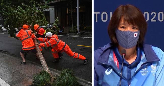 Extremväder drar in över Kina och Japan